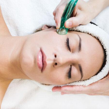 Ventosas faciales aplicadas a la estética de cabeza y cuello